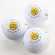 egg golf balls