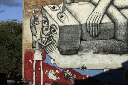 The monument maker's mural